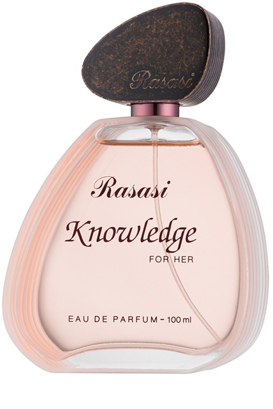rasasi knowledge for her eau de parfum f r damen 100 ml. Black Bedroom Furniture Sets. Home Design Ideas