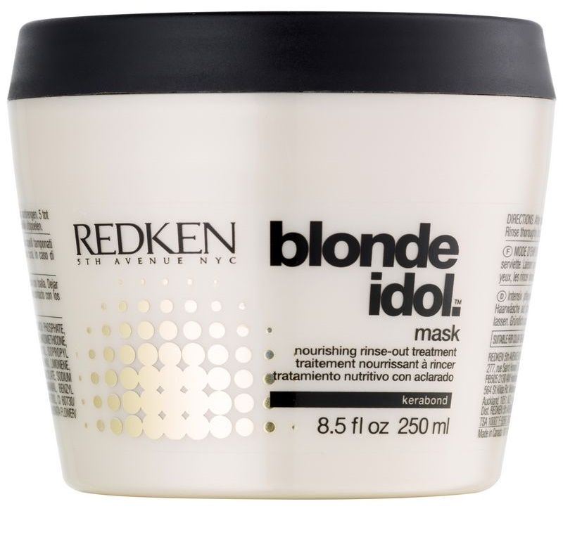 redken blonde idol masque nourrissant pour cheveux blonds. Black Bedroom Furniture Sets. Home Design Ideas