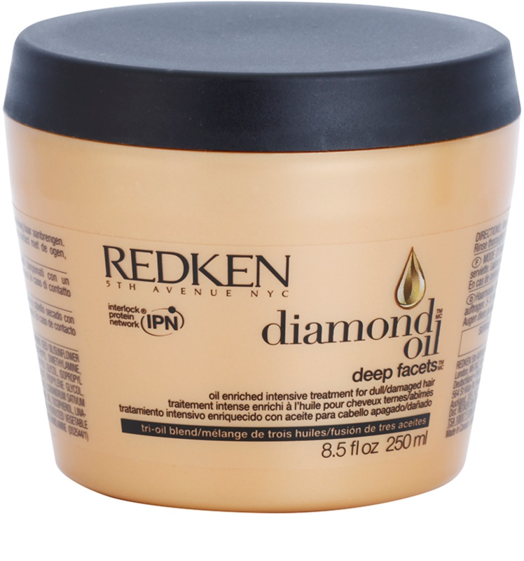 redken diamond oil masque pour cheveux ab m s. Black Bedroom Furniture Sets. Home Design Ideas