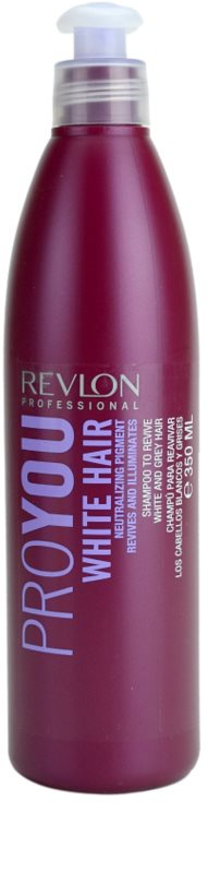revlon professional pro you white hair shampoo fà r blonde und