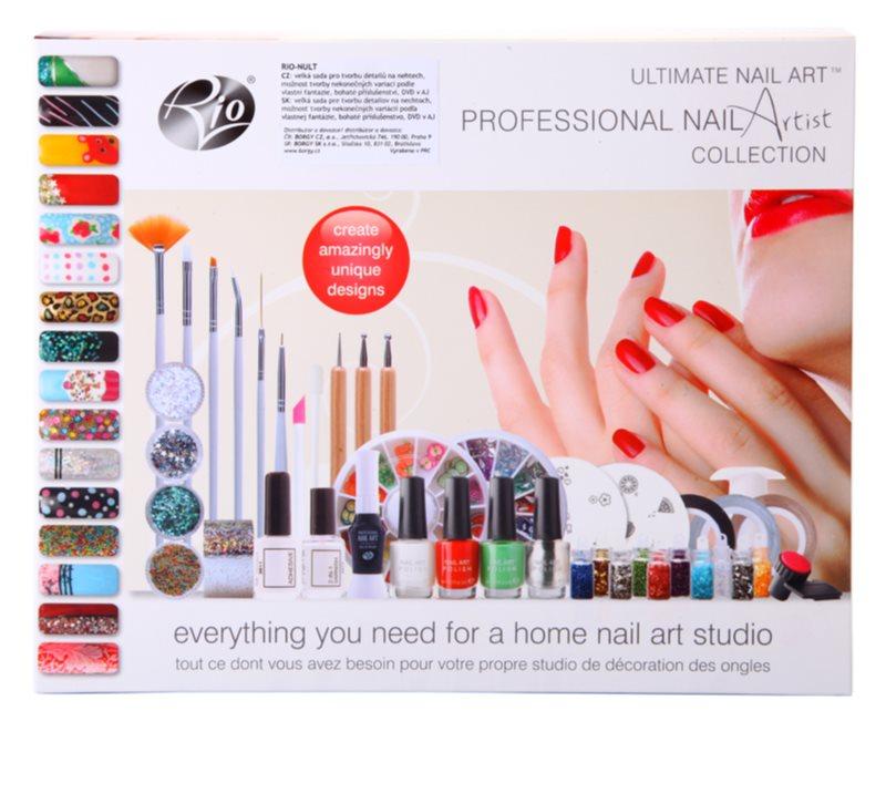 Rio Ultimate Nail Art Cosmetic Set V Notino