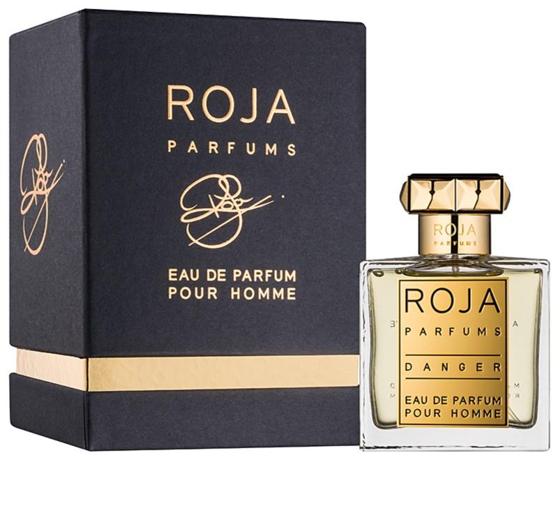 roja parfums danger eau de parfum f r herren 50 ml. Black Bedroom Furniture Sets. Home Design Ideas
