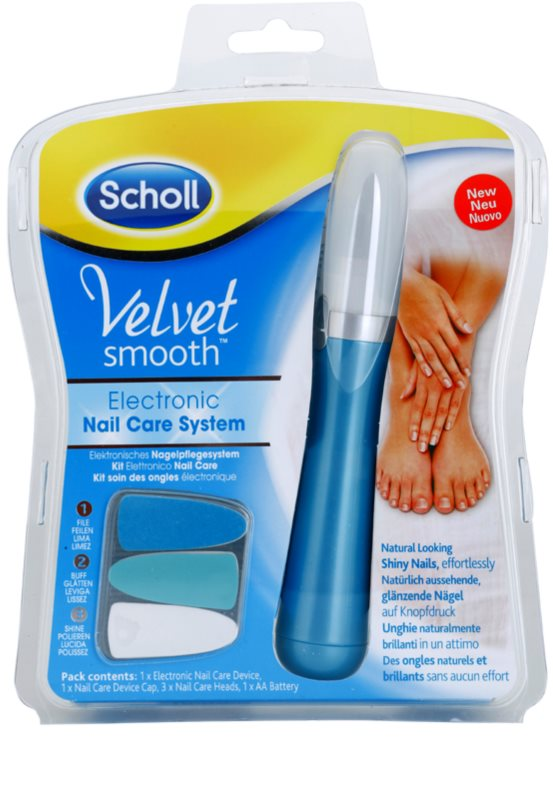 SCHOLL VELVET SMOOTH lima eléctrica para uñas | notino.es
