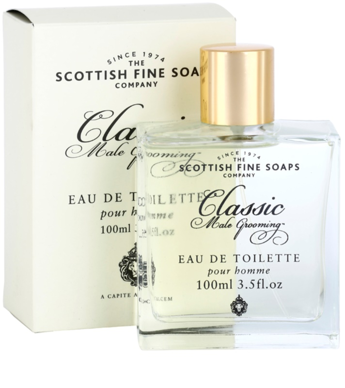 scottish fine soaps classic male grooming toaletn voda pro mu e 100 ml. Black Bedroom Furniture Sets. Home Design Ideas