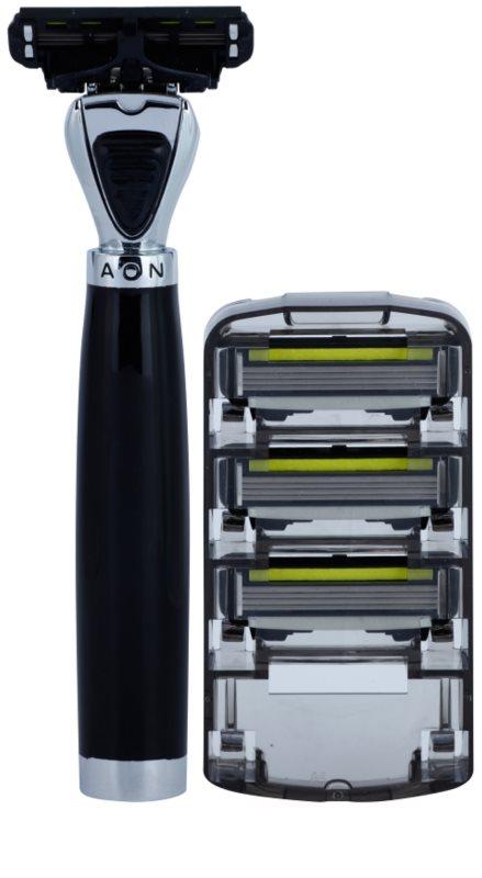 shave lab premium aon p 4 brivnik nadomestne britvice 3 kos. Black Bedroom Furniture Sets. Home Design Ideas