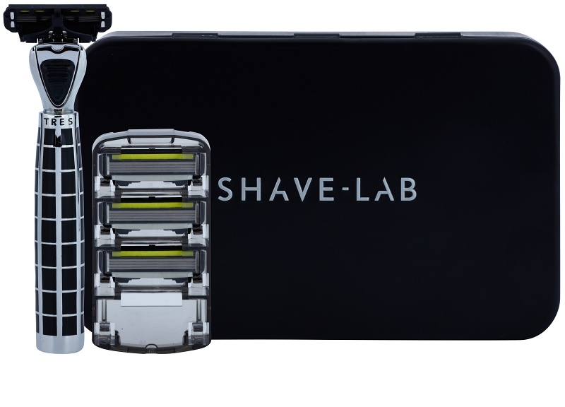 shave lab luxury tres p 4 holic strojek n hradn b ity 3 ks. Black Bedroom Furniture Sets. Home Design Ideas
