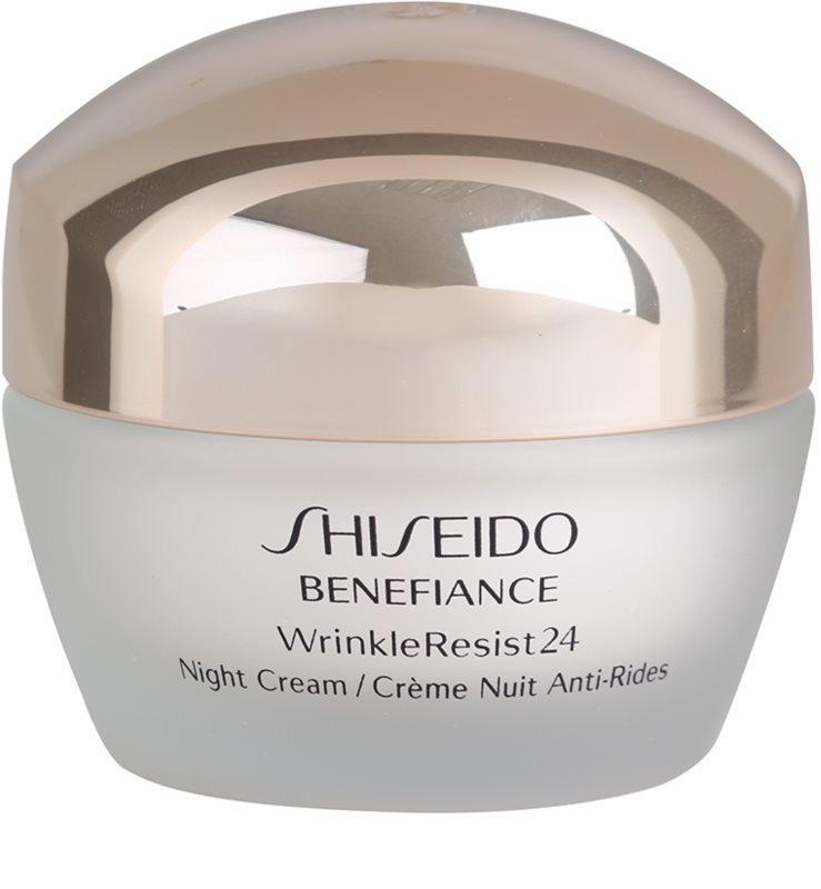 shiseido benefiance wrinkleresist24 night cream. Black Bedroom Furniture Sets. Home Design Ideas