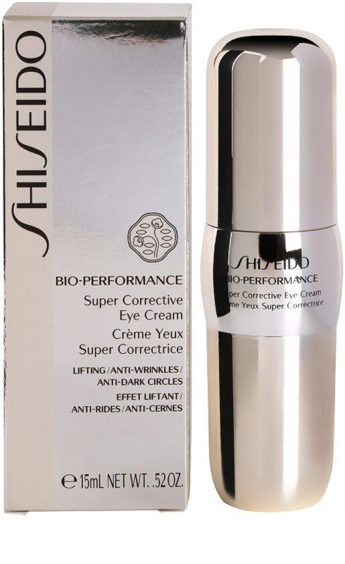 1fd7fafe3 ... Shiseido Bio-Performance creme de olhos corretivo antirrugas e anti-olheiras  3 ...