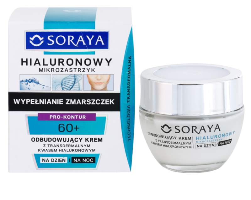 soraya hyaluronic microinjection cr me anti rides l 39 acide hyaluronique. Black Bedroom Furniture Sets. Home Design Ideas
