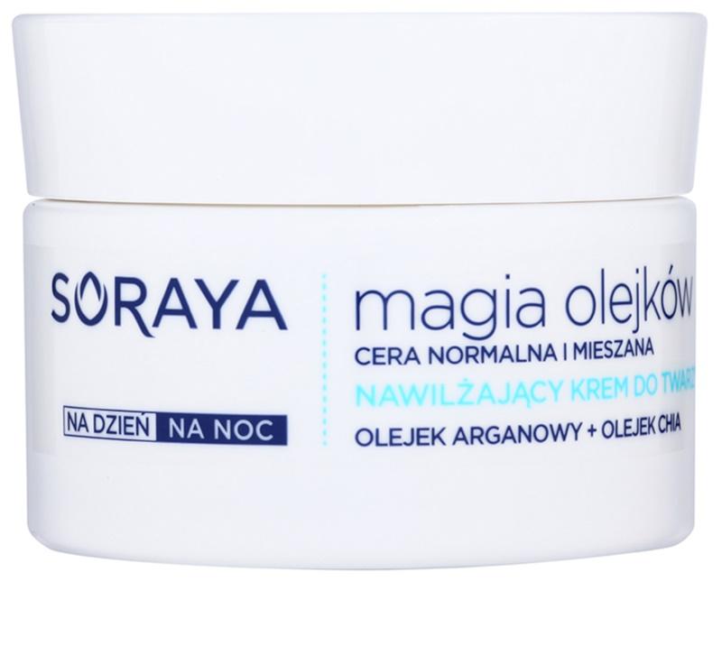 soraya magic oils cr me hydratante pour peaux normales mixtes. Black Bedroom Furniture Sets. Home Design Ideas
