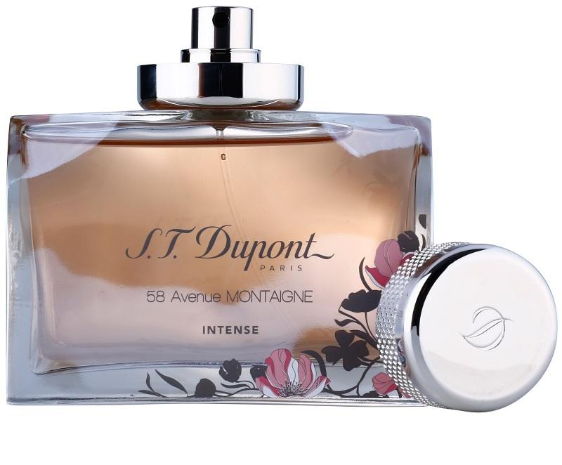 S.T. Dupont 58 Avenue Montaigne Intense, Eau de Parfum for Women 90 ...