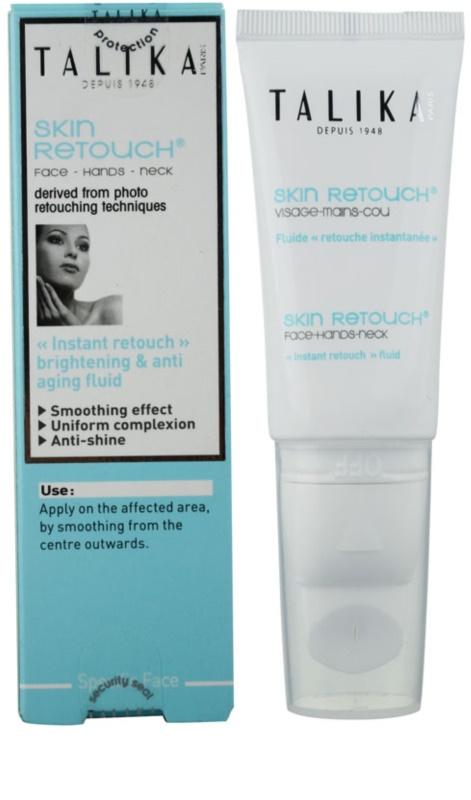 Talika - Skin Retouch Brightening & Anti-Aging Fluid -30ml/1oz Olay Complete Defense Daily UV Moisturizer-2.5 oz