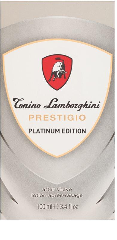 4022e97d5bd ... Tonino Lamborghini Prestigio Platinum Edition after shave para homens 1  ...