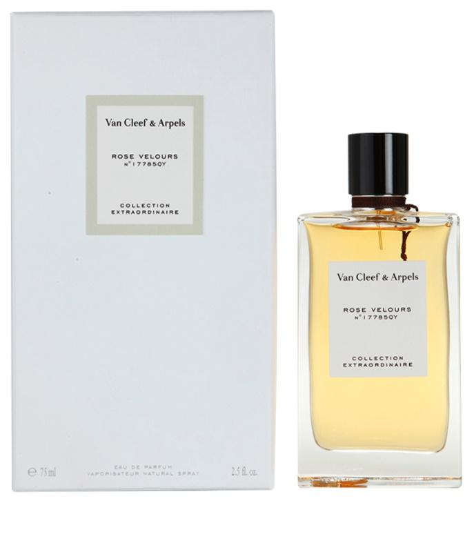 van cleef arpels collection extraordinaire rose velours eau de parfum f r damen 75 ml. Black Bedroom Furniture Sets. Home Design Ideas