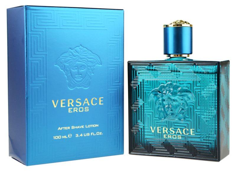 Versace Eros Aftershave Lotion Voor Mannen 100 Ml Notino Nl