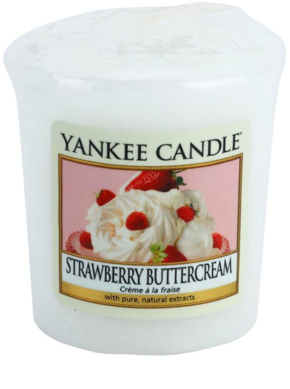 yankee candle strawberry buttercream votivkerze 49 g. Black Bedroom Furniture Sets. Home Design Ideas