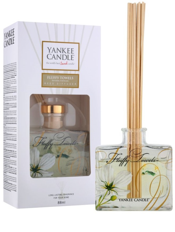 Yankee Candle Fluffy Towels, Aroma Diffuser With Refill 88 ml ...