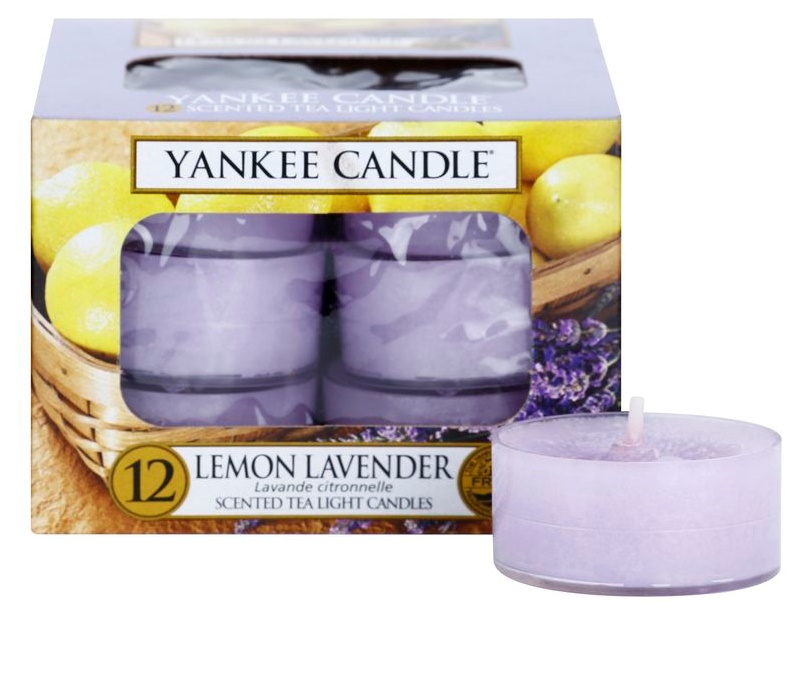 yankee candle lemon lavender bougie chauffe plat 12 x 9 8. Black Bedroom Furniture Sets. Home Design Ideas