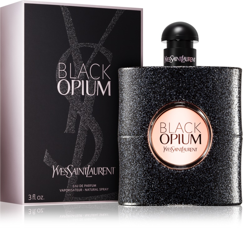 yves saint laurent black opium eau de parfum pour femme 90 ml. Black Bedroom Furniture Sets. Home Design Ideas