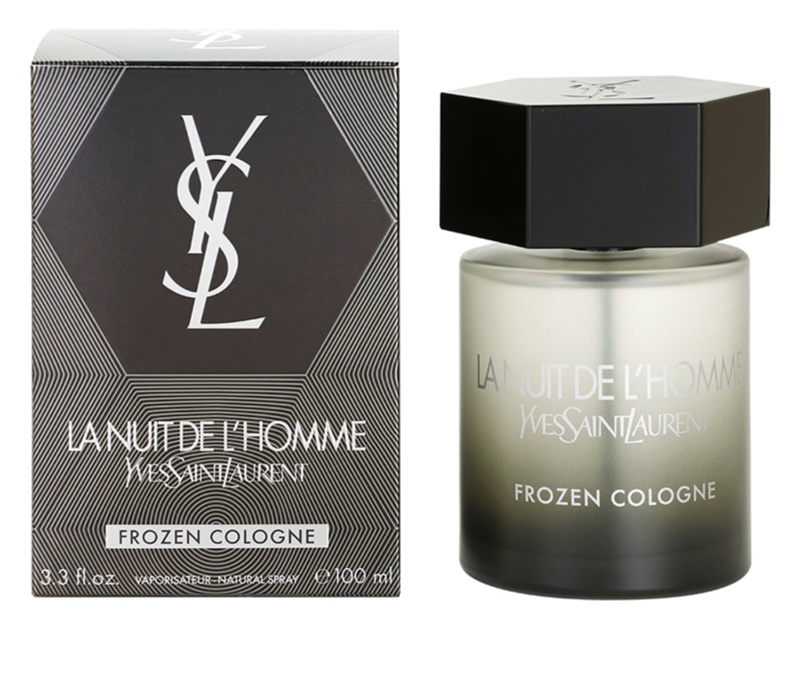 yves saint laurent la nuit de l 39 homme frozen cologne eau de cologne for men 100 ml. Black Bedroom Furniture Sets. Home Design Ideas