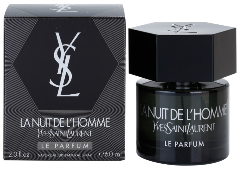 yves saint laurent la nuit de l homme le parfum eau de parfum pour homme 60 ml. Black Bedroom Furniture Sets. Home Design Ideas